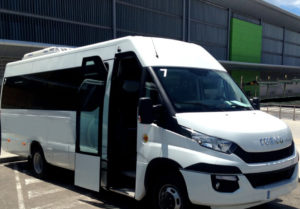 Transferbus middle
